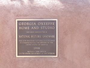 GEORGIA OKEEFE HOME