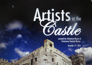 artists at the castle